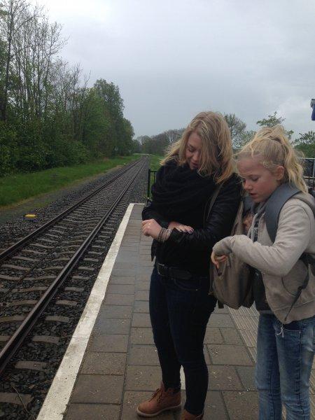 Hoe, hoe, hoe lang zaten we in de trein