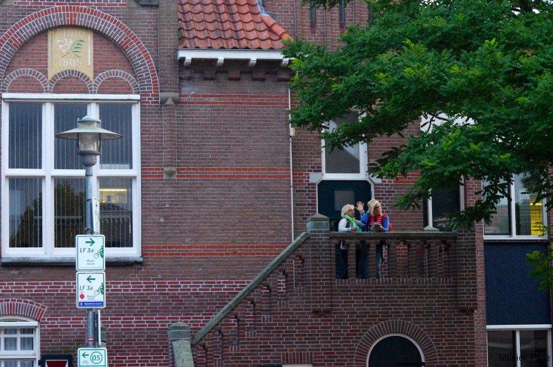 Het gemeentehuis van Millingen